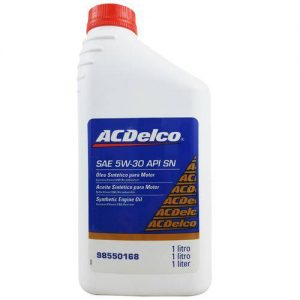 Óleo Para Motor Acdelco Sae 5w30 Api Sn 100% Sintético 1l