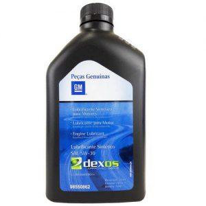 Óleo Para Motor Dexos 1 Sae 5w30 100% Sintético Original Gm 1l