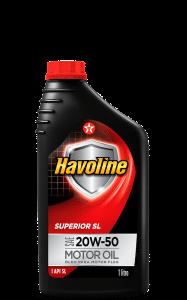 Óleo Para Motor Havoline Superior Sl Sae 20w50 1L